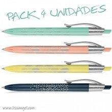 MILAN P1 Silver Pens - 4 Units Pack