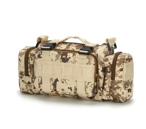 Hoge Kwaliteit Outdoor Militaire Tactische Rugzak Taille Verpakking Heuptas Mochilas Molle Camping Wandelen Pouch 3P Borst Zak