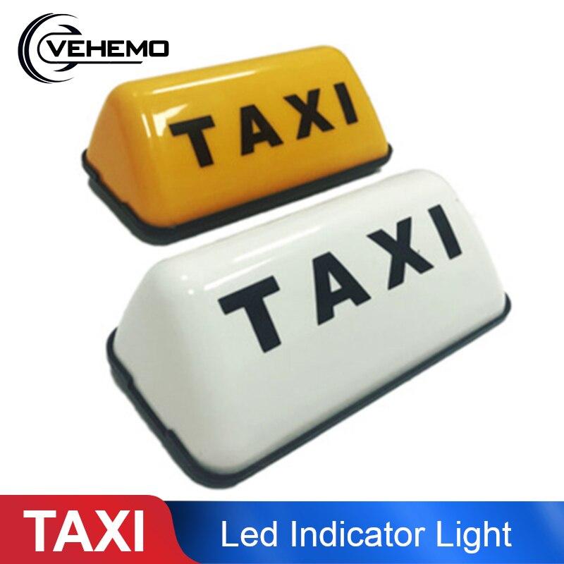Luz indicadora de LED para TAXI, luz LED de día, luces de circulación diurna de coche DC 12V 3 W, techo de Auto conducción, cabina, señal LED, estilo de coche