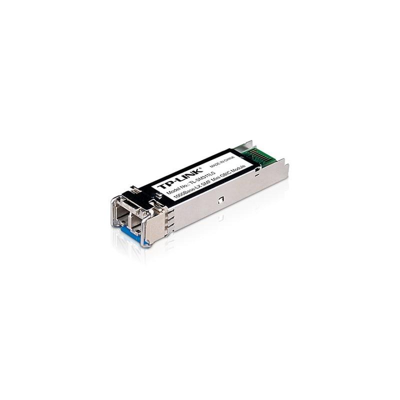 TP-LINK TL-SM311LS red modulo transceptor Fibra óptica 1250 Mbit/s mini-GBIC/SFP 1310 nm