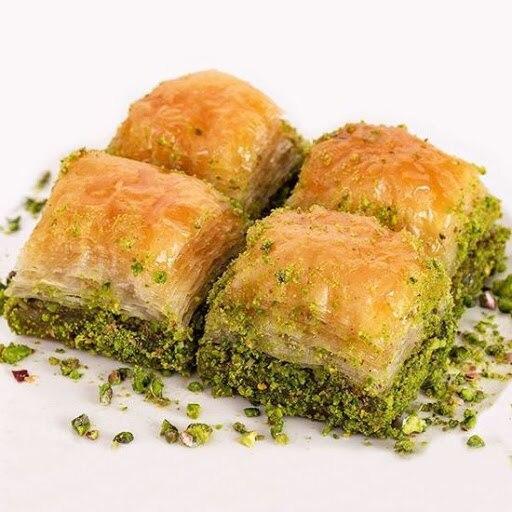 Baklava, Turkish Baklava pistachio daily fresh pastry 1000 GRAM  FREE SHİPPİNG