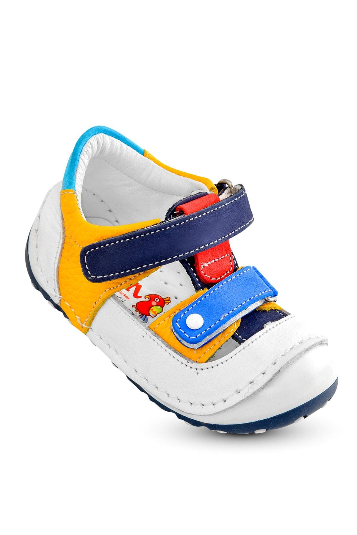 Flaneur Baby Boys Orthopedic Genuine Leather Sandals Shoes 2021 Premium Quality
