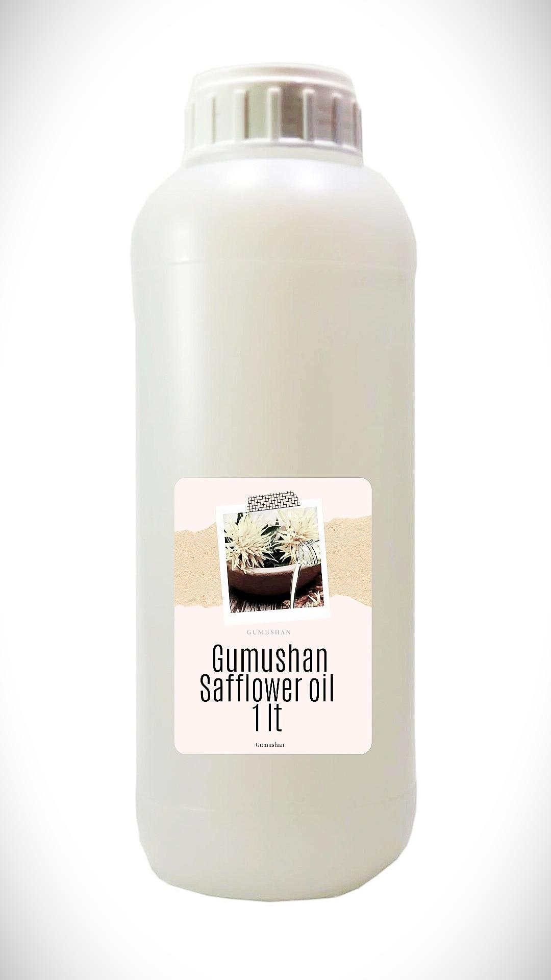 High quality pure Safflower Oil 1 liter 34 fl oz 1000ml