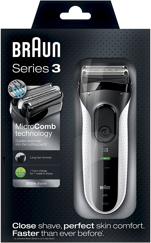 Braun Series 3 - 3020s - white enlarge