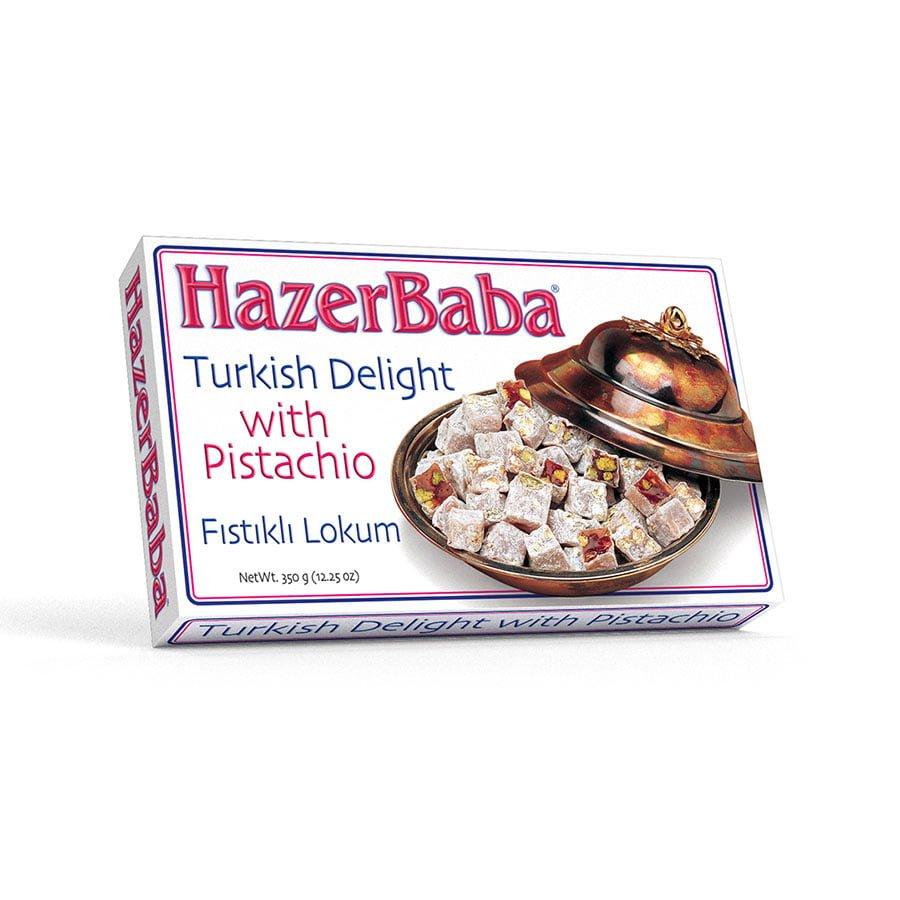 Hazer Baba - Turkish Delight Pistachio with 350 g недорого
