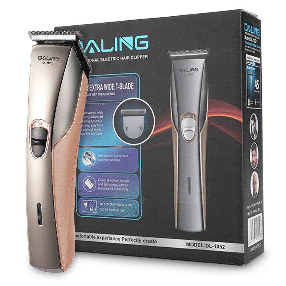 usb eletrico aparador de cabelo masculino barba trimer para menstubble borda navalha
