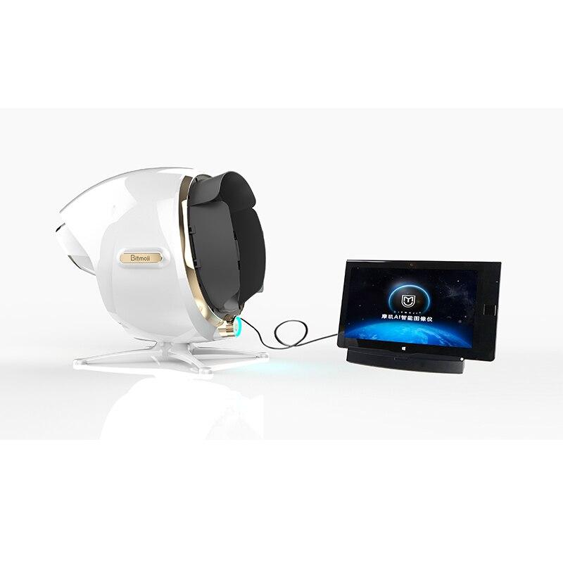 New Arrival Skin Analyzer AI Intelligent Image Instrument Skin Detector 3D Magic Mirror Skin Analyzer Machine