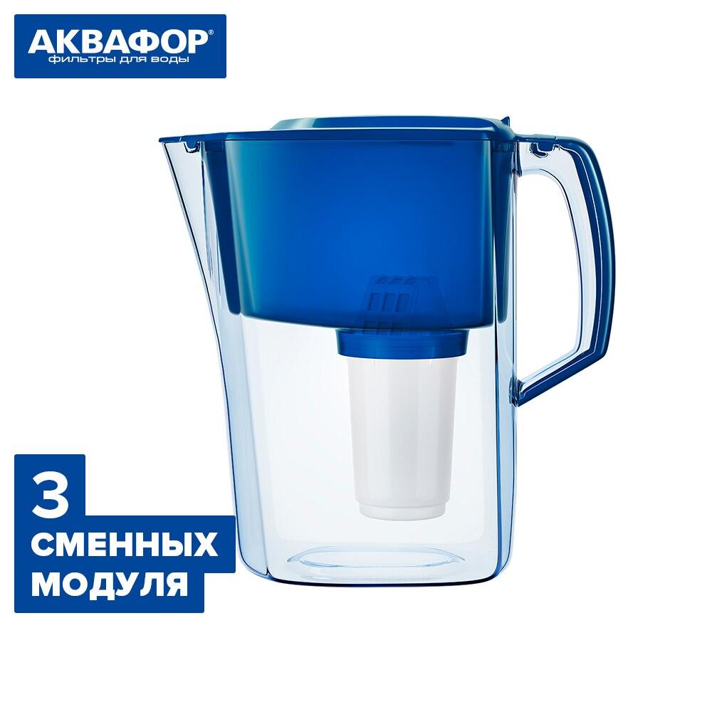 Jarra de agua filtros de agua AQUAPHOR 501628 casa jardín cocina Bar comedor tazas de filtro de agua аквафор reemplazo módulo conjunto kit de filtro de agua Jarra acueducto Atlant + 2 módulos reemplazables A5 blanco verde azul