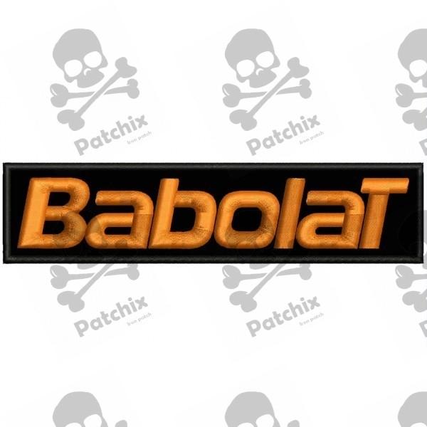 BABOLAT Iron patch Toppa ricamata gestickter patch brode remendo bordado parche bordado