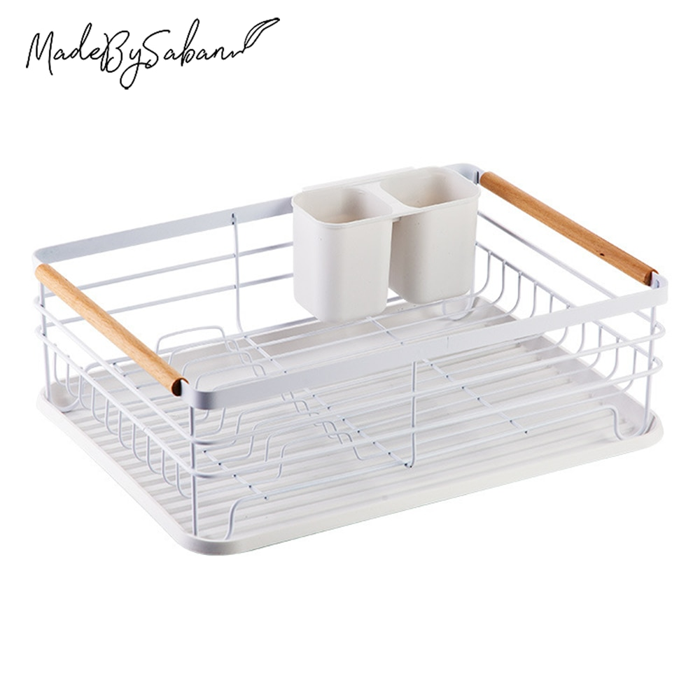 Large Capacity Multifunctional Kitchen Dish Rack Light Duty Countertop Utensil Organizer Storage Shelves