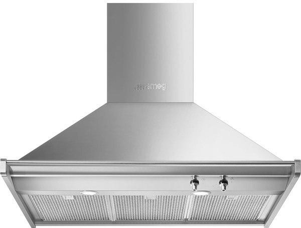 SMEG GLOCKE HD90HXE DEKORATIVE 90CM INOX