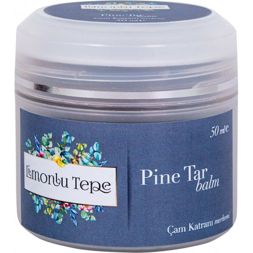 Pine Tar Balm 50 Ml, Eczema, Psoriasis, Fungus, Itchy Skin and Acne Problems Treatment Support Ointment