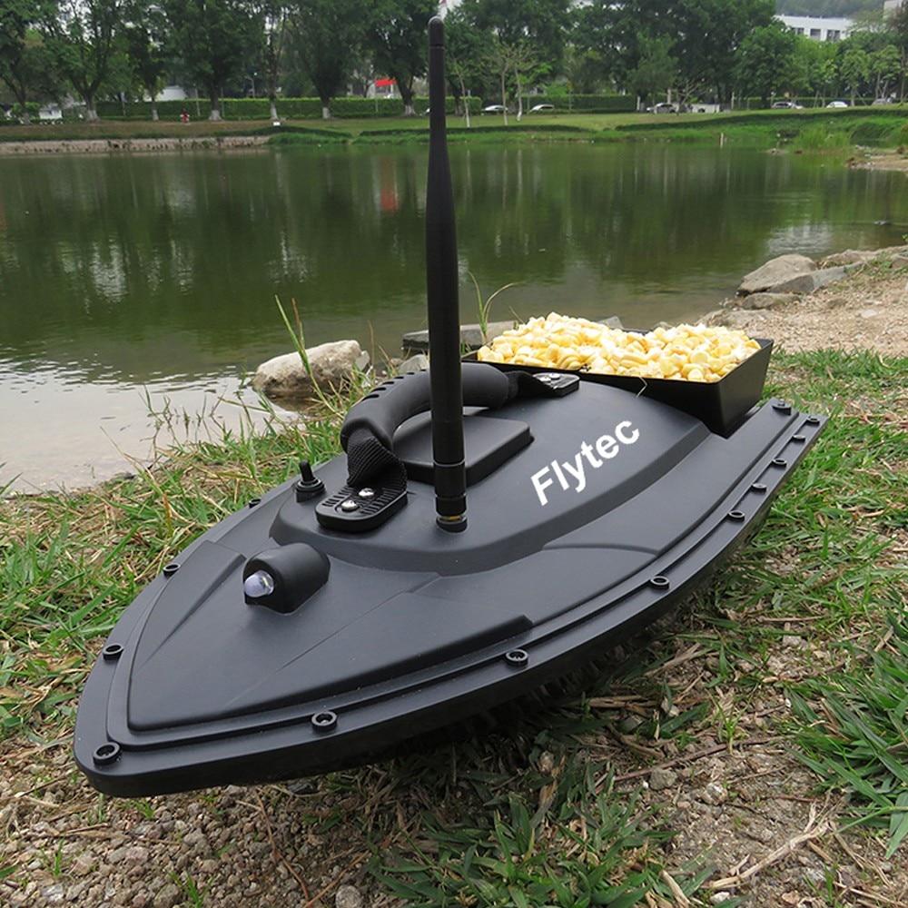 Flytec HQ2011-5 Smart RC Bait Boat Toy Fishing Tool Dual Motor Fish Finder Fish Boat Remote Control Fishing Boat Ship Speedboat