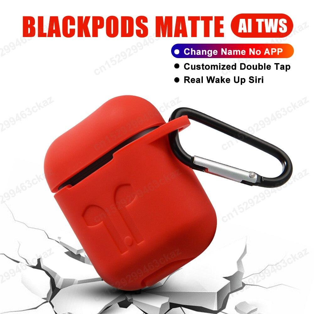 Auriculares inalámbricos TWS Blackpods con cambio de nombre y Bluetooth PK i7s i9s i10 i12 i200 i9000 i100000 tws