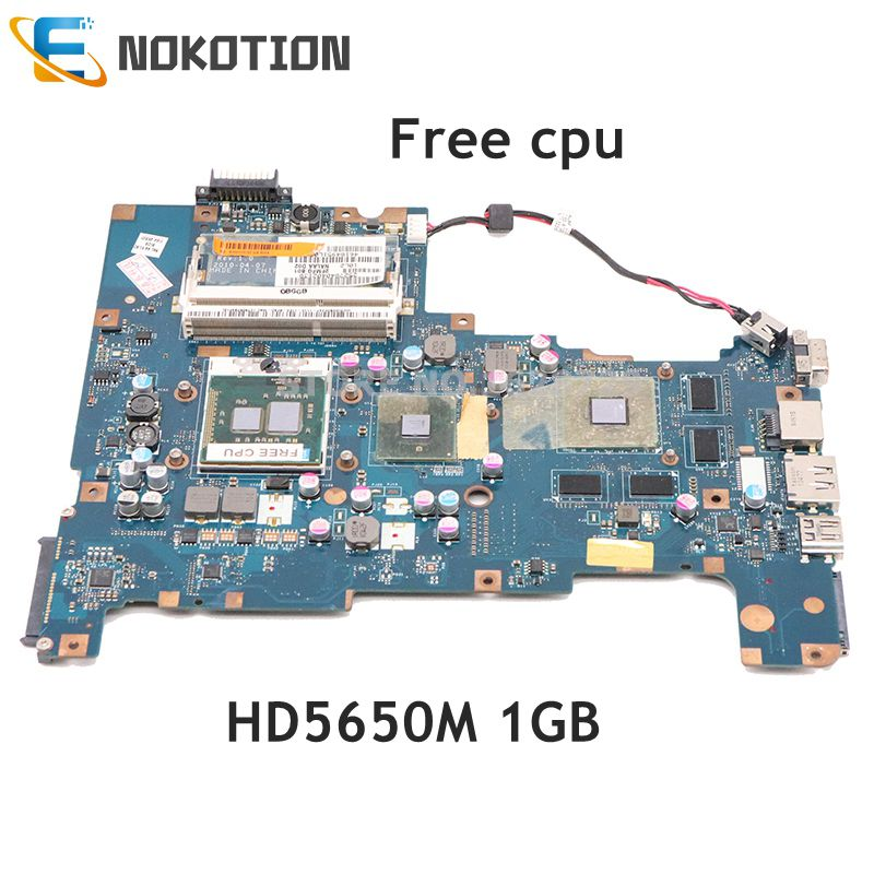 NOKOTION K000103790 NALAA LA-6042P اللوحة الرئيسية لتوتوشيبا الأقمار الصناعية L670 اللوحة الأم HD5650M 1GB HM55 DDR3 وحدة المعالجة المركزية الحرة