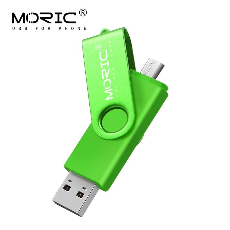Memoria usb 2 en 1 Moric, 4GB, 8GB, 16GB, 32GB, 64GB, 128GB,...
