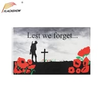 flagnshow lest we forget flag poppy remembrance day flags