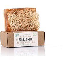 100% Handmade Natural Pumpkin Fiber Honey Donkey Milk Soap 120 Gr Shower Bath Beauty Skin Cleaning P