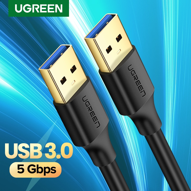Ugreen-Cable de extensión USB tipo A 3,0 2,0, extensor macho A macho...