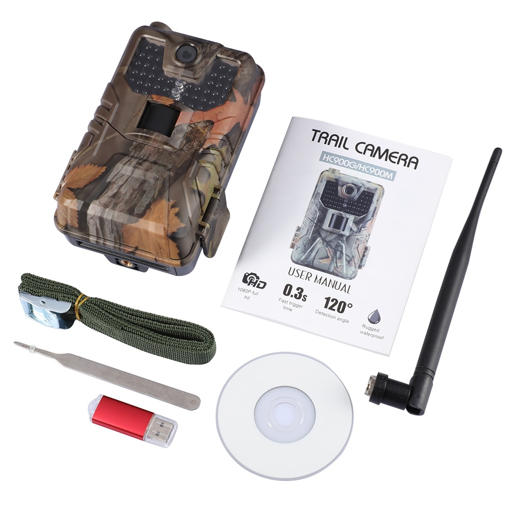 HC-900PRO 900LTE 900G 900M Trail Camera 4K WIFI Bluetooth Infrared Night Vision Camera Surveillance Camera Exterieur Sans Fil enlarge