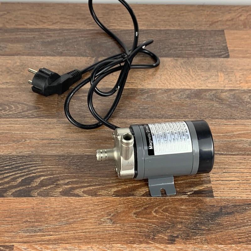 304 الفولاذ رئيس المغناطيسي مضخة MP-10RN البيرة ، الغذاء الصف درجة حرارة عالية مقاومة 140C البيرة المغناطيسي محرك مضخة الرئيسية المشروب