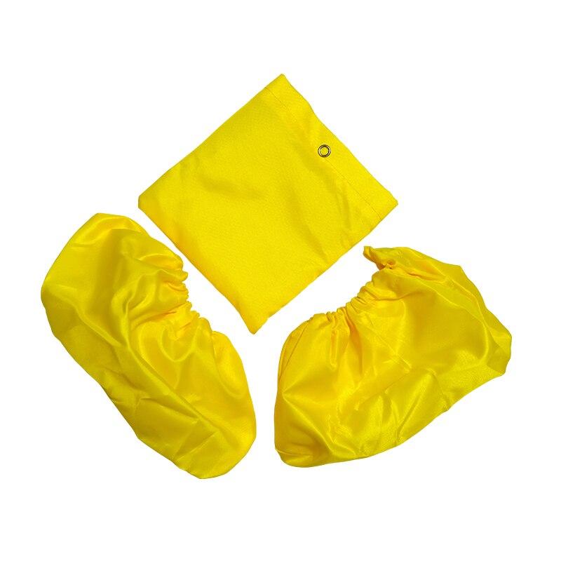1 пара. Многоразовые чехлы для обуви детям и взрослым, непромокаемые, нескользящие, с мешочком для хранения