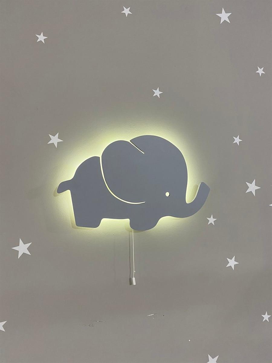 Jaju طفل رمادي الفيل ضوء الليل \ الإضاءة
