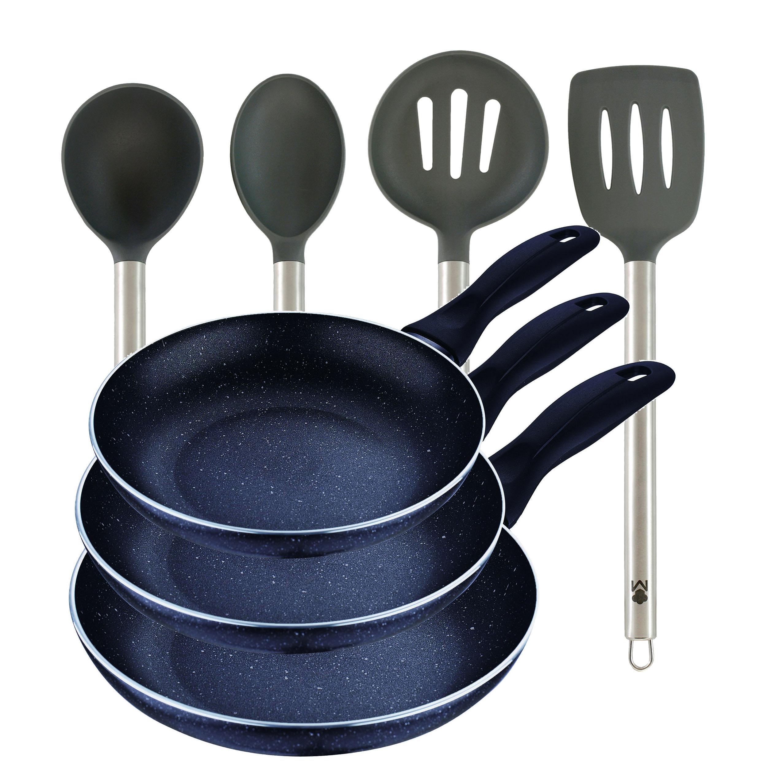 SAN IGNACIO juego de sartenes y utensilios de cocina