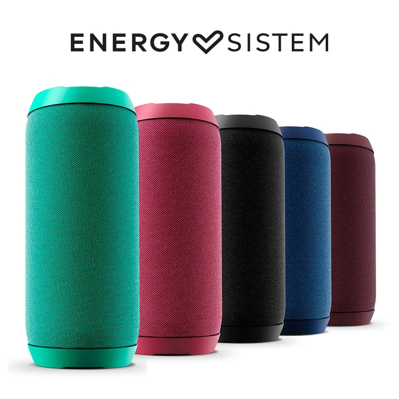 Energy Sistem Urban Box 2 FS1 Altavoz portátil con Bluetooth Tecnología True Wireless 10W USB microSD MP3 Player 12h autonomía