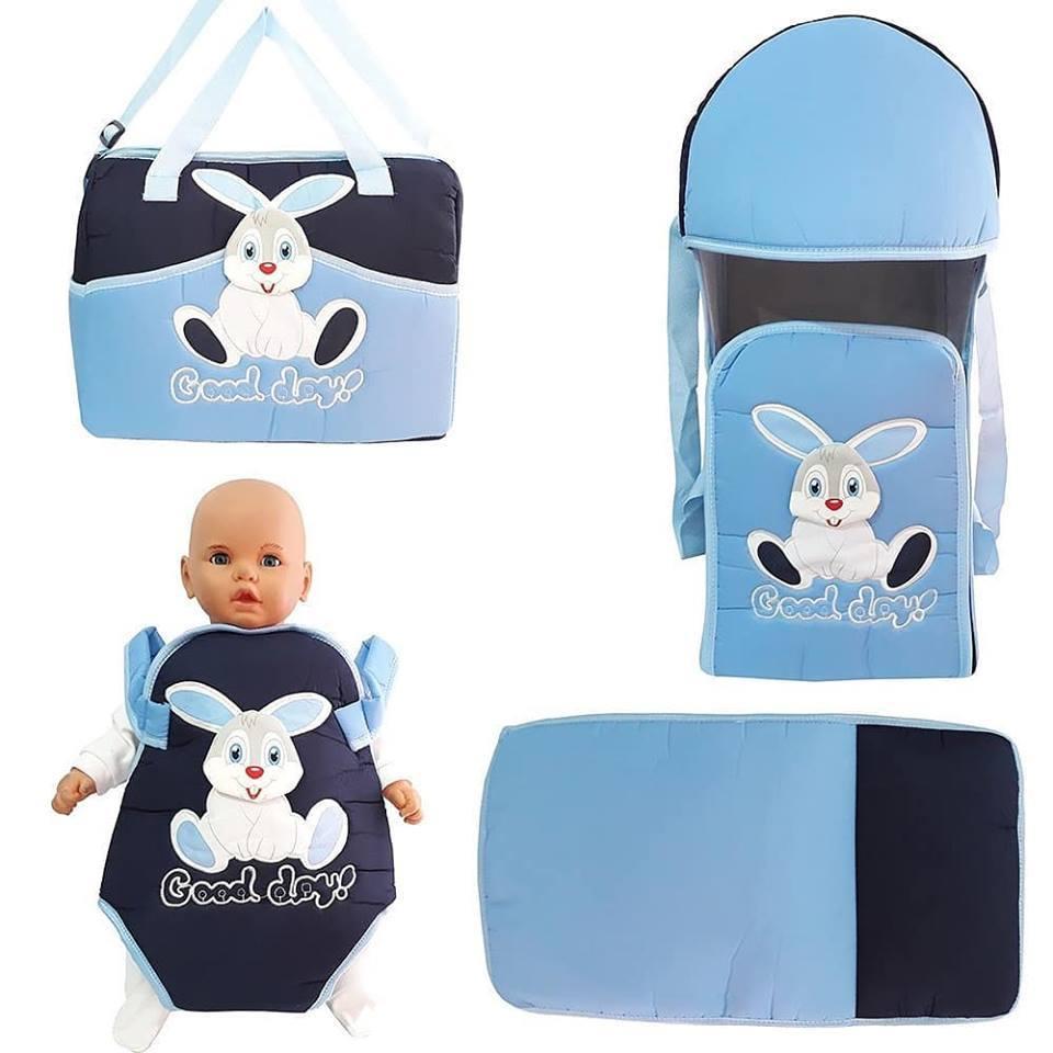 Rabbit Mavi 4 PCs Baby Carrier Kangaroo Portbebe Bag Bottom opening Set