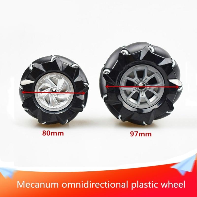 Всенаправленное пластиковое колесо Mec