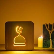 테이블 램프 야간 조명 침대 옆 램프 장식 램프 책상 나무 램프 손으로 만든 램프 조명 장식 터키 램프 터키에서 만든