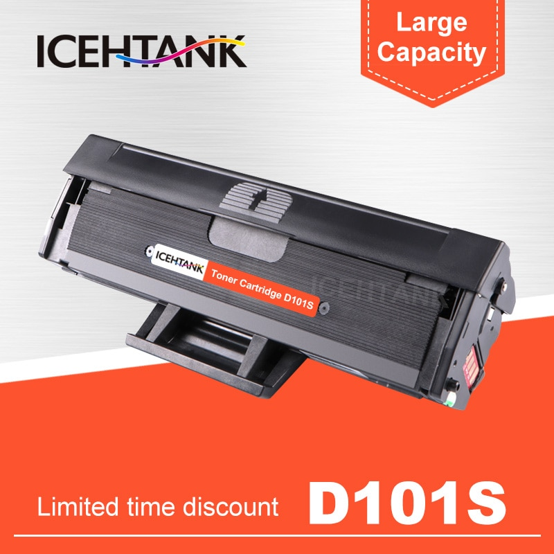 MLT-D101S ICEHTANK cartucho de Toner Compatível para Samsung d101s 101S 101 ML-2165 2160 2166W SCX 3400 3401 3405F 3405FW 3407