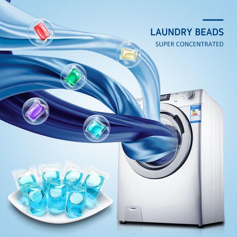 Cápsulas de lavado de lavandería limpiador líquido manchas película detergente Pods bolas ropa detergente ropa lavadora líquido