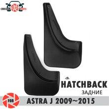 Auto spatlappen voor Opel Astra J hatchback 2009 ~ 2015 spatlappen splash guards mud flap achter spatborden spatbord auto accessoires vuil beschermen