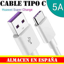 Type C Cable USB-C Ultra fast charging and data 5A 1 1.5 2 3 meters data Cable Tiopo C Huawei White