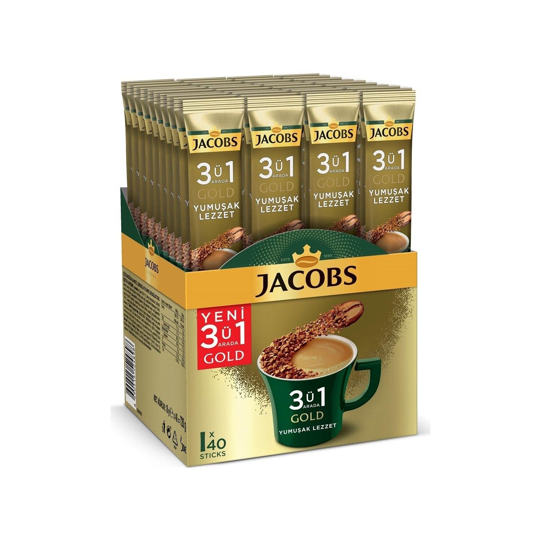 جاكوبس 3 في 1 نكهة ناعمة ذهبية 40LI شحن مجاني