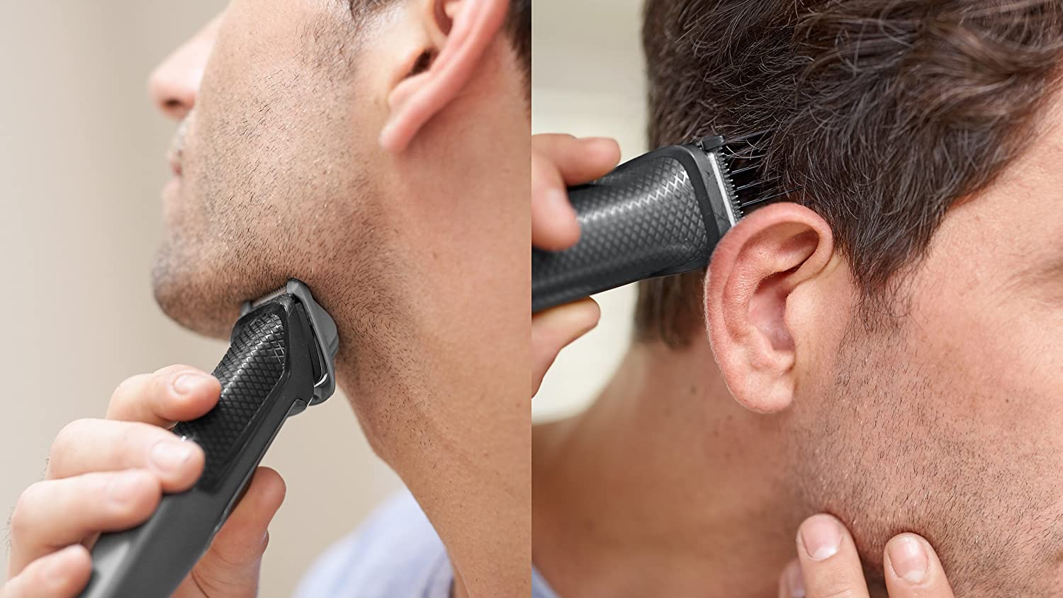 Philips Series 3000 7-in-1 Multi Grooming Kit for Beard & Hair with Nose Trimmer Attachment - MG3720/13 enlarge