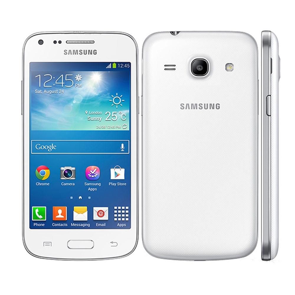 Смартфоны Samsung Galaxy G3502, GPS, 4,3 дюйма, 4 Гб ПЗУ, 3G WCDMA, разблокированные недорогие сотовые телефоны Android, 5,0 МП, мобильные телефоны с двумя Sim-картам...