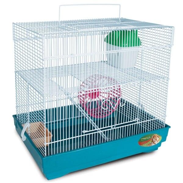 Jaula triol 4101K para roedores 39,5 х29 5 х37 cm