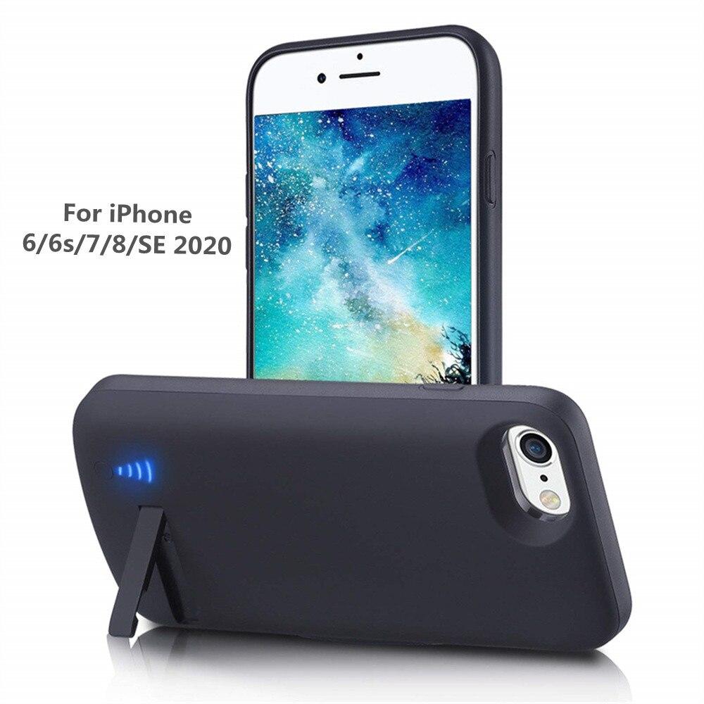 Чехол для IPhone 7/8/6s/6/SE 6000, 2020 мАч