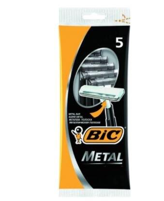 Металлическая бритва с одним ударом BIC, 30 шт., съемные парикмахерские принадлежности, ведущая свободная съемка