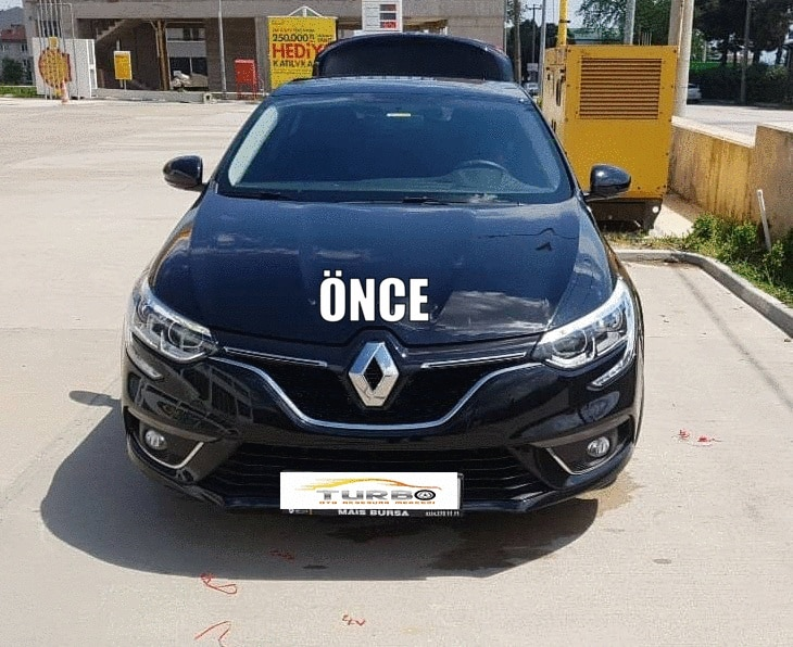 Rejilla frontal cromada Renault Megane 4 5 Track HB/SD(2016 arriba)