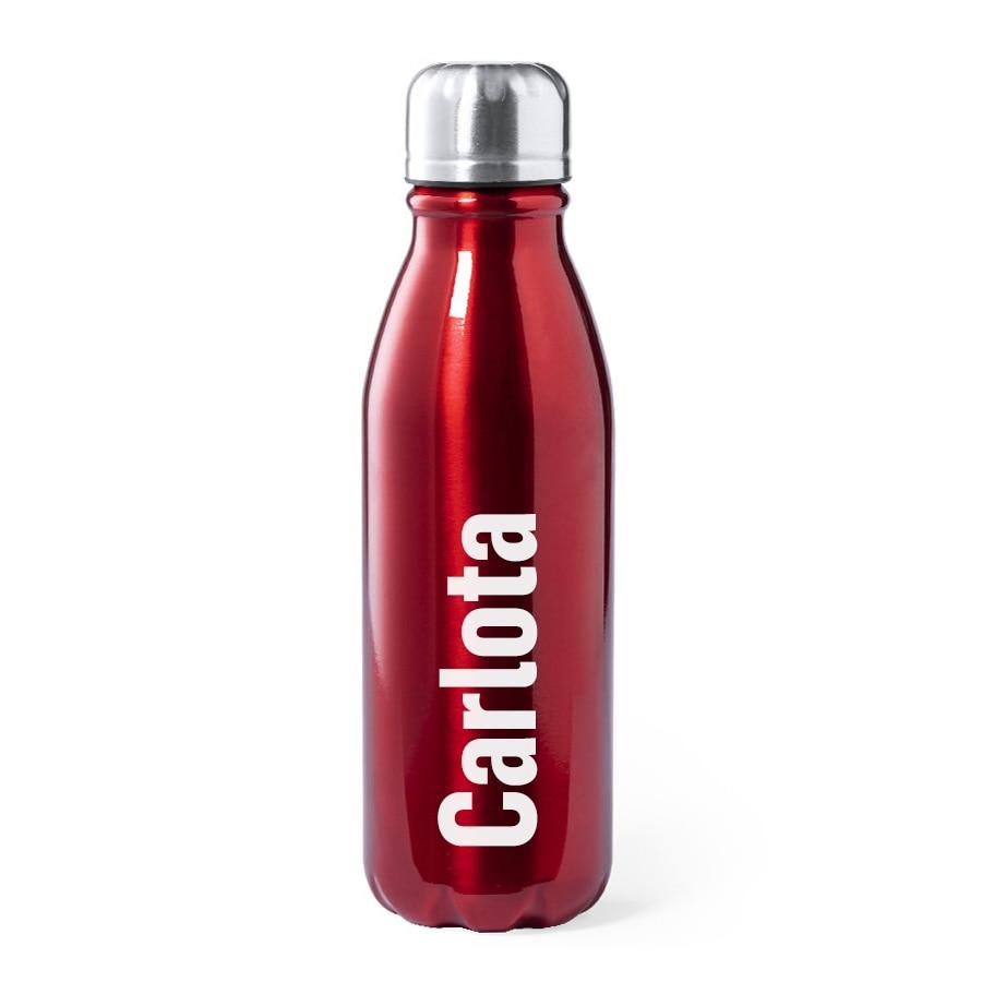 botella de aluminio 550 mls. personalizada láser