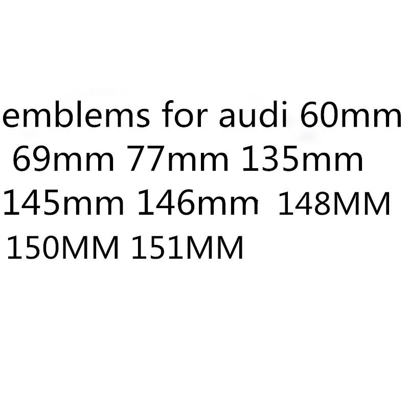 Para audi 60mm 69mm 77mm 135mm 145mm 146mm 148mm 150MM 151MM tapas