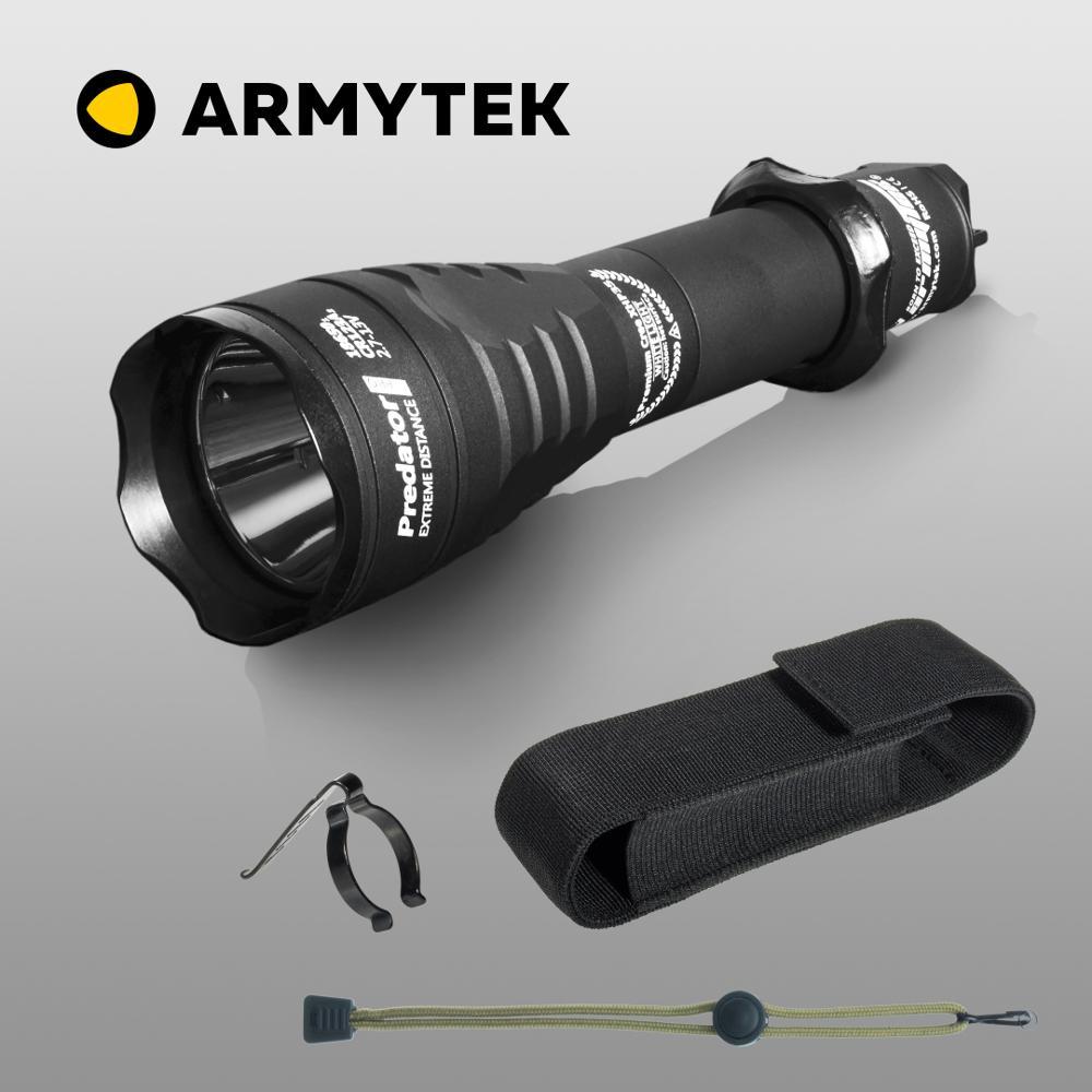 Linterna táctica LED Armytek Predator Pro XHP35 HI 1700 lúmenes Super brillante antorcha de largo alcance