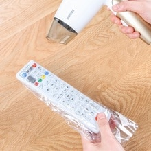 5 teile/satz Schrumpf Film Klar Video TV Klimaanlage Fernbedienung Schutz Abdeckung Hause Wasserdichte Schutzhülle Neue