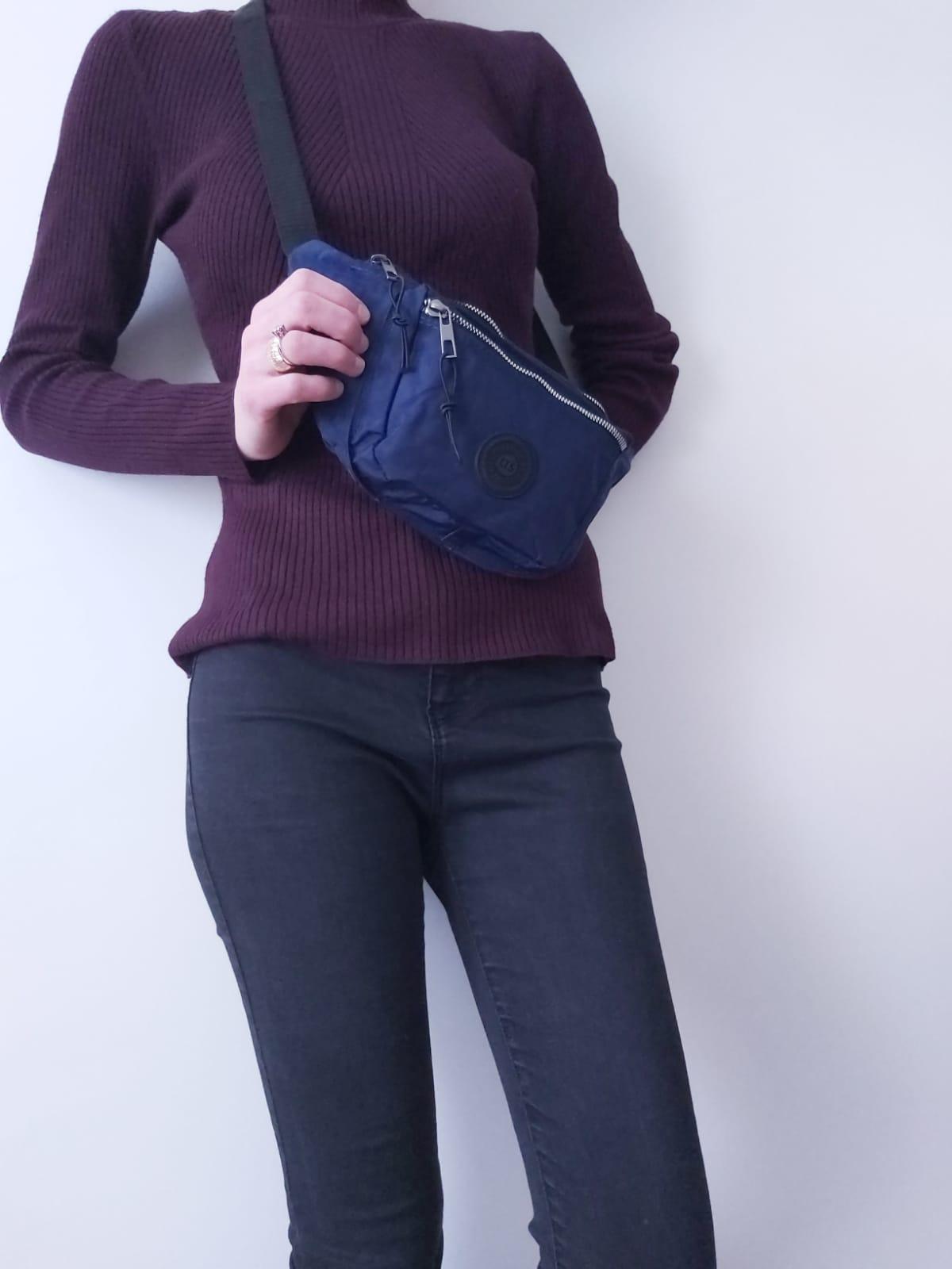 Fashion shoulder bag waist quality running sports women trend waist pack casual crosbody chest bags unisex  travel belt bag