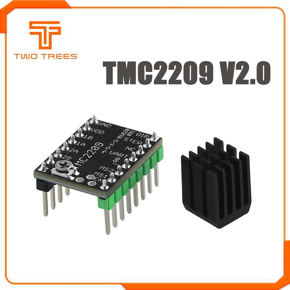 MKS TMC2209 V2.0 TMC2208 מנוע צעד נהג StepStick 2.5A UART אולטרה שקט עבור Gen_L רובין ננו SKR V1.3 מיני E3 עבור אנדר 3