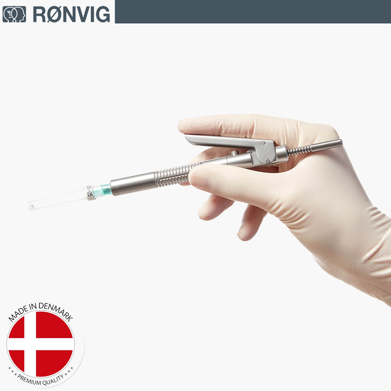 Ronvig Paroject Dental cartridge syringe for intraligamental  - PDLA